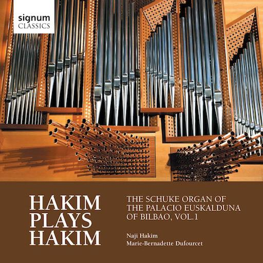 Hakim plays Hakim - The Schuke organ of the palacio Euskalduna of Bilbao vol. 1 MP3 44.1 KHZ - 2CH