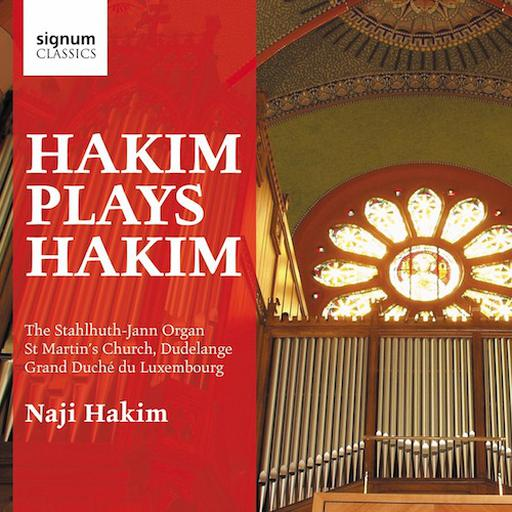 Hakim plays Hakim - The Stahlhuth-Jann Organ, Dudelange
