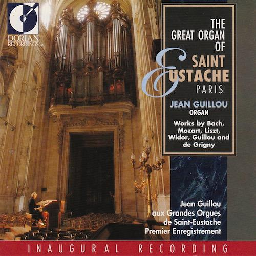 The great organ of Saint Eustache - Inaugural recording