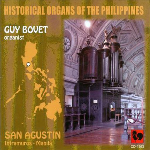 Historical organs of the Philippines (4 CDs)