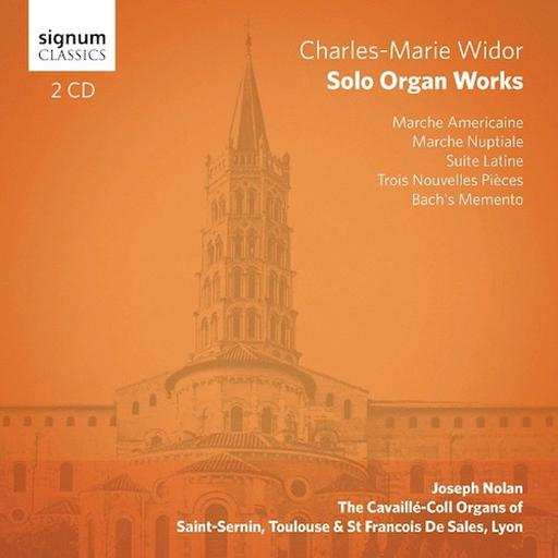 Charles-Marie Widor - Solo Organ Works MP3 44.1 KHZ - 2CH